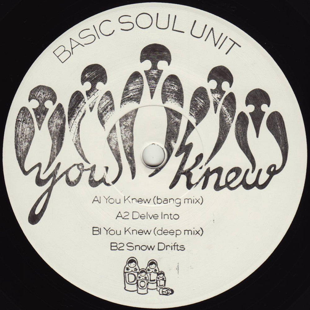 Basic Soul Unit - You Knew EP - Unearthed Sounds