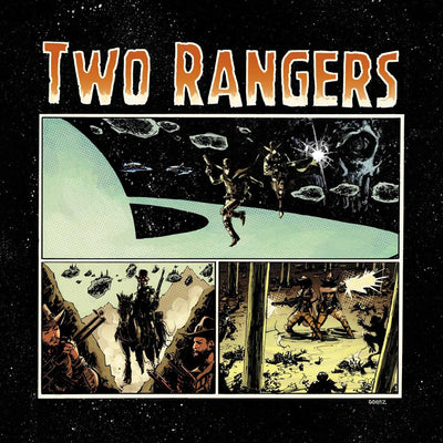 "Two Rangers - Ghosts & Galaxies [full colour sleeve / 180g 12"" orange marbled vinyl] - Unearthed Sounds"