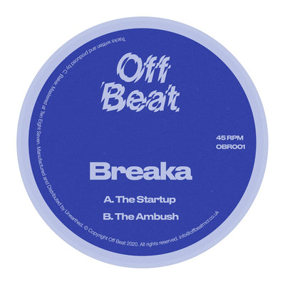 Breaka - The Startup / The Ambush - Unearthed Sounds