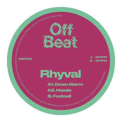 Rhyval - Footcell - Unearthed Sounds