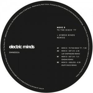 Move D - To the Disco '77 & Hybrid Minds Remixes - Unearthed Sounds