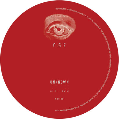 Unknown Artist - OGE004 [Vinyl Only] - Unearthed Sounds