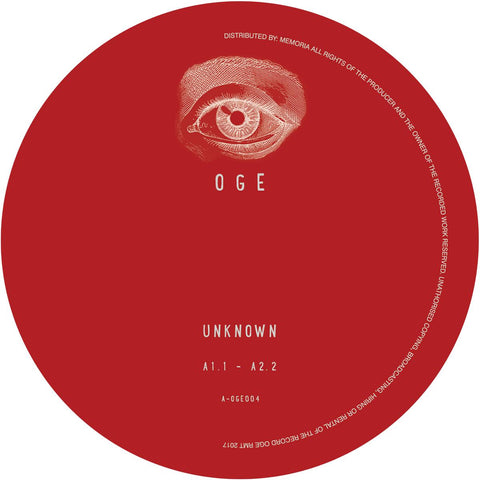 Unknown Artist - OGE004 [Vinyl Only]