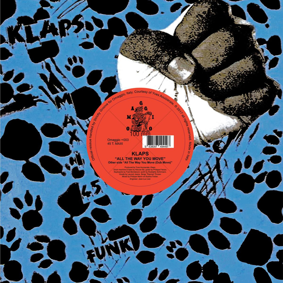 Klaps - All the Way You Move [Official Re-issue]