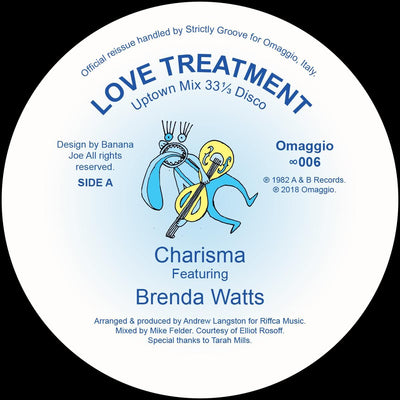 Charisma / Brenda Watts - Love Treatment [official re-issue]
