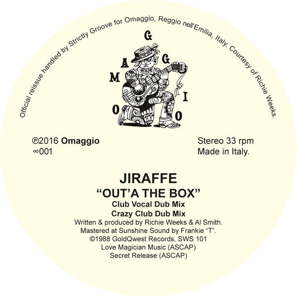 Jiraffe - Out'A the Box [Official Re-Issue] - Unearthed Sounds