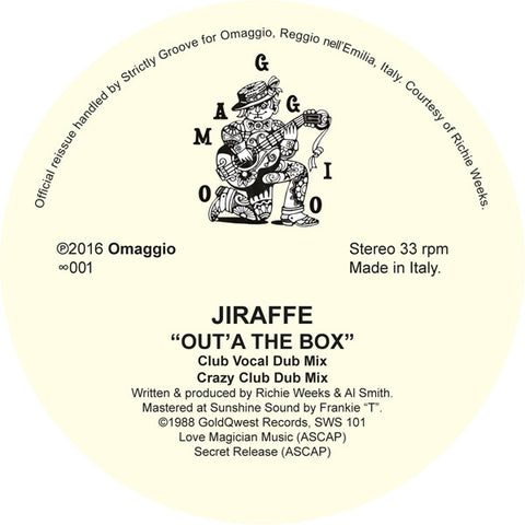 Jiraffe - Out'A the Box [Official Re-Issue]