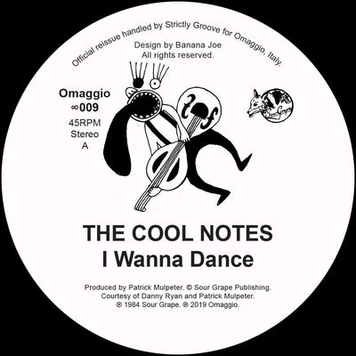 The Cool Notes - I Wanna Dance [official re-issue]