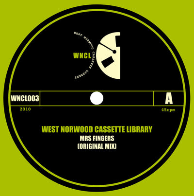 West Norwood Cassette Library ‎– Mrs Fingers - Unearthed Sounds
