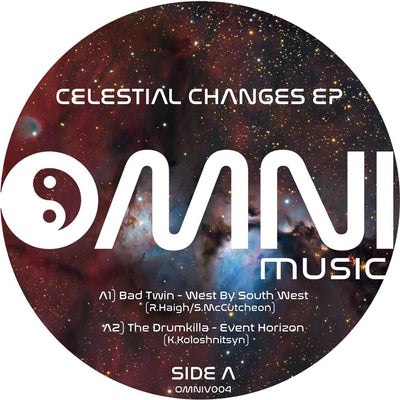 Various Artists- Celestial Changes EP - Unearthed Sounds, Vinyl, Record Store, Vinyl Records