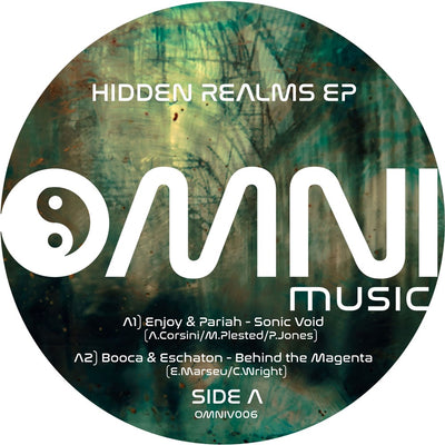 Various Artists - Hidden Realms EP - Unearthed Sounds, Vinyl, Record Store, Vinyl Records