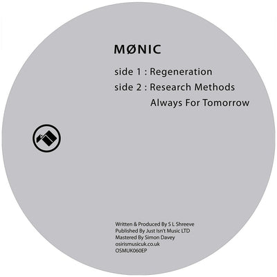 Mønic - Research Methods [Repress] - Unearthed Sounds