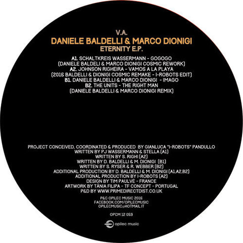 Various Artists / Daniele Baldelli & Marco Dionigi - Eternity E.P.
