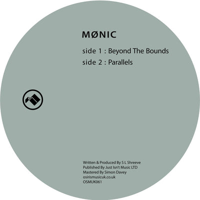 Mønic - Beyond The Bounds [Repress] - Unearthed Sounds