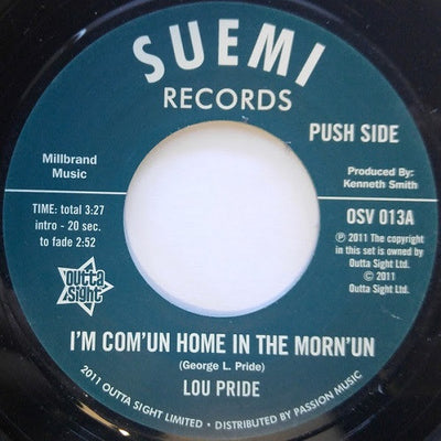 Lou Pride / Southwind Symphony - I'm Com'un Home In The Morn'un , Vinyl - Outta Sight, Unearthed Sounds