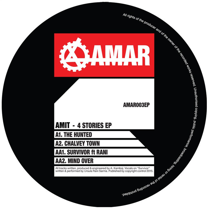Amit - 4 Stories Ep - Unearthed Sounds