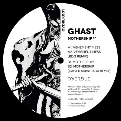 Ghast - Mothership EP [180g vinyl / incl download card] - Unearthed Sounds