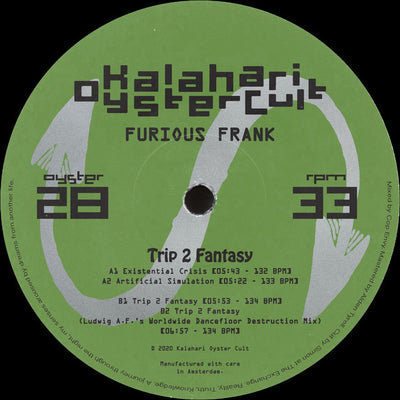 Furious Frank -  Trip 2 Fantasy - Unearthed Sounds