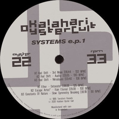 Various Artists - Systems EP 1 ['95 Reissue] - Unearthed Sounds