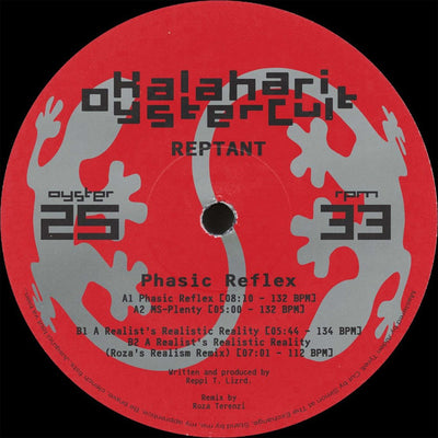 Reptant - Phasic Reflex EP - Unearthed Sounds