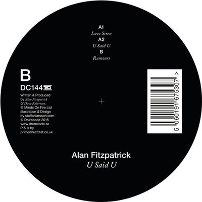 Alan Fitzpatrick - U Said U - Unearthed Sounds