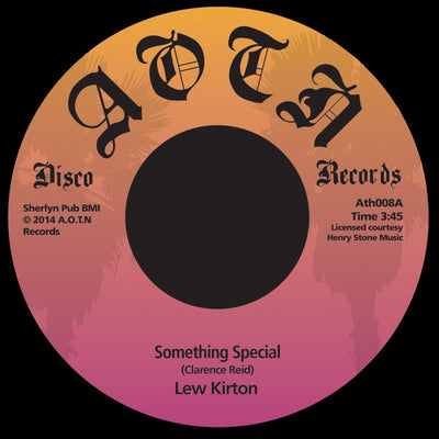 Lew Kirton - Something Special - Unearthed Sounds