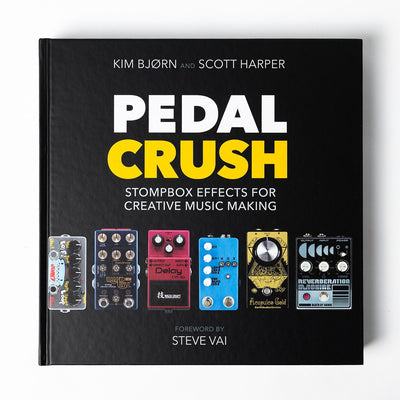 PEDAL CRUSH - Stompbox Effects For Creative Music Making - Unearthed Sounds, Vinyl, Record Store, Vinyl Records