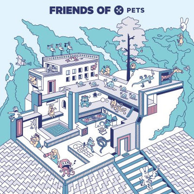Earth Trax, Seltron 400, Adam Port & Jen - Friends Of Pets 1 - Unearthed Sounds