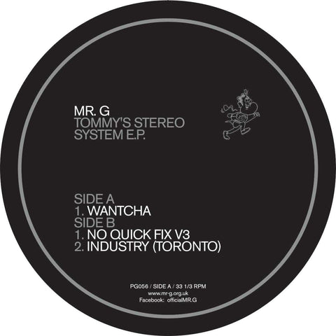 Mr. G - Tommy's Stereo System EP