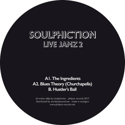 Soulphiction - Jamz 2 - Unearthed Sounds