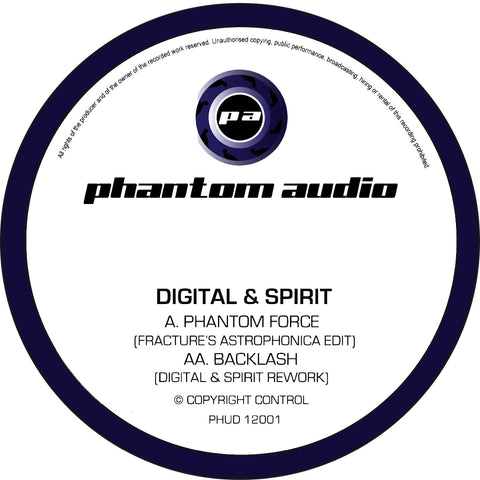 Digital & Spirit - Phantom Force (Fracture's Astrophonica Edit) // Backlash (Digital & Spirit Rework)