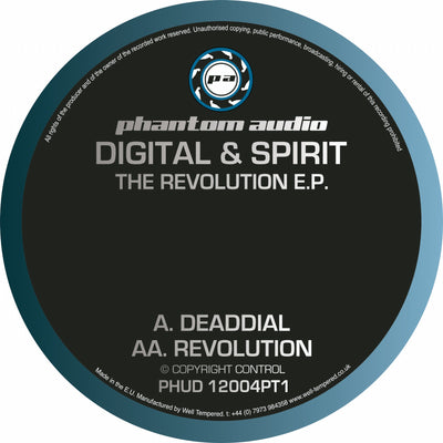 Digital & Spirit - The Revolution EP Pt 1 *Repress* - Unearthed Sounds, Vinyl, Record Store, Vinyl Records