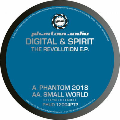 Digital & Spirit - The Revolution EP Pt 2 *Repress* - Unearthed Sounds, Vinyl, Record Store, Vinyl Records