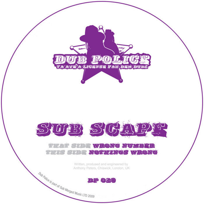 Subscape - Wrong Number - Unearthed Sounds
