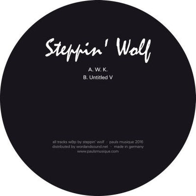 Steppin' Wolf - W.K. , Vinyl - Pauls Musique, Unearthed Sounds
