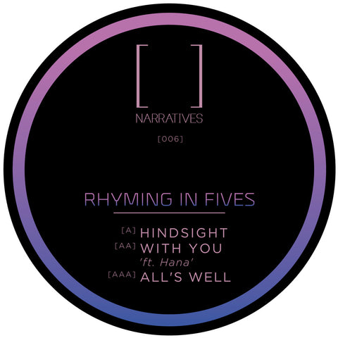Rhyming In Fives - Hindsight EP