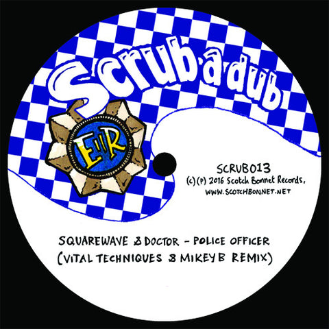 Squarewave / Mungo's Hi-Fi - Police Officer / Boomsound (Vital Techniques & Mikey B Remix)