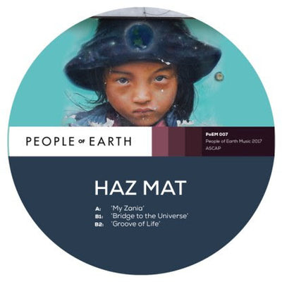 Haz Mat - My Zania / Bridge to Universe / Groove of Life - Unearthed Sounds, Vinyl, Record Store, Vinyl Records