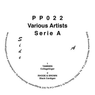 Tambien, Obalski, Mr. Tophat, Rhode & Brown - Serie A Compilation - Unearthed Sounds