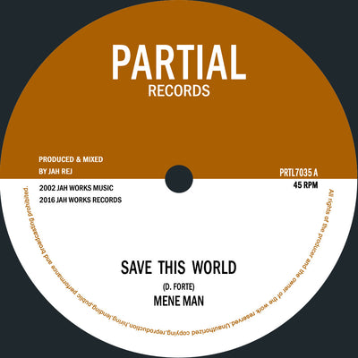 "Mene Man / Seventh Sense - Save This World [7"" Vinyl] - Unearthed Sounds"