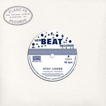 "Hemsley Morris - Stay Loose [7"" Vinyl] , Vinyl - Pressure Sounds, Unearthed Sounds"