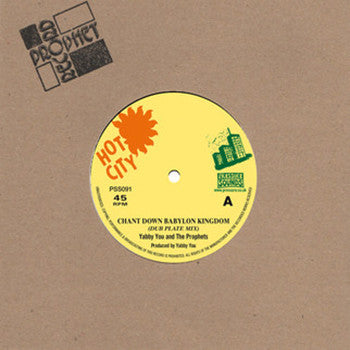 "Yabby You & The Prophets - Chant Down Babylon Kingdom [7"" Vinyl] - Unearthed Sounds"