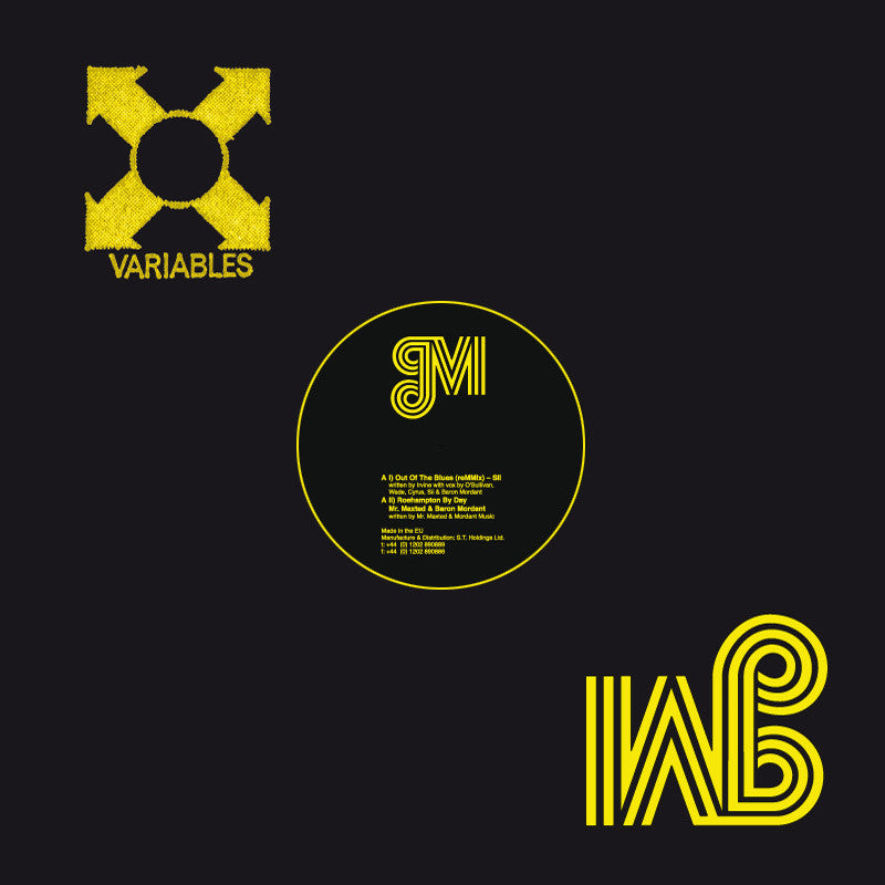 Mordant Music - Variables EP - Unearthed Sounds