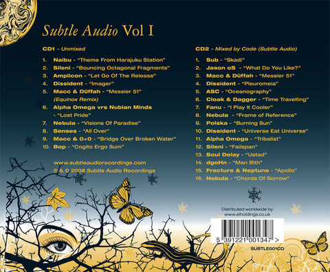 Subtle Audio Vol I - 2xCD
