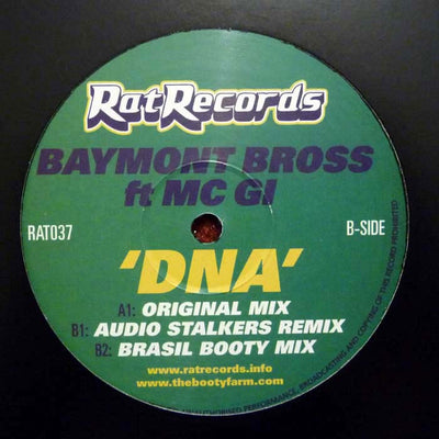 Baymont Bros (feat. MC GI) - DNA - Unearthed Sounds