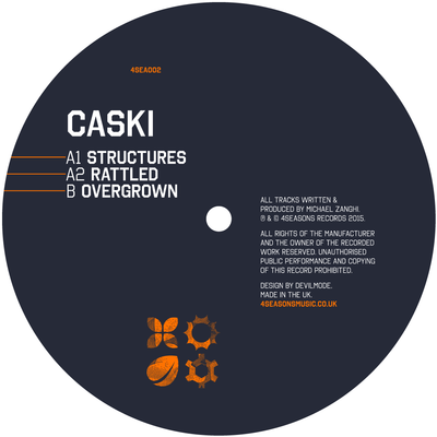 Caski - Structures EP - Unearthed Sounds