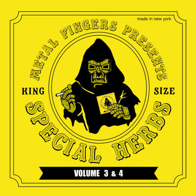 MF Doom - Special Herbs Vol. 3 & 4 - Unearthed Sounds