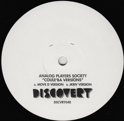Analog Players Society - Coule'Ba Versions - Unearthed Sounds