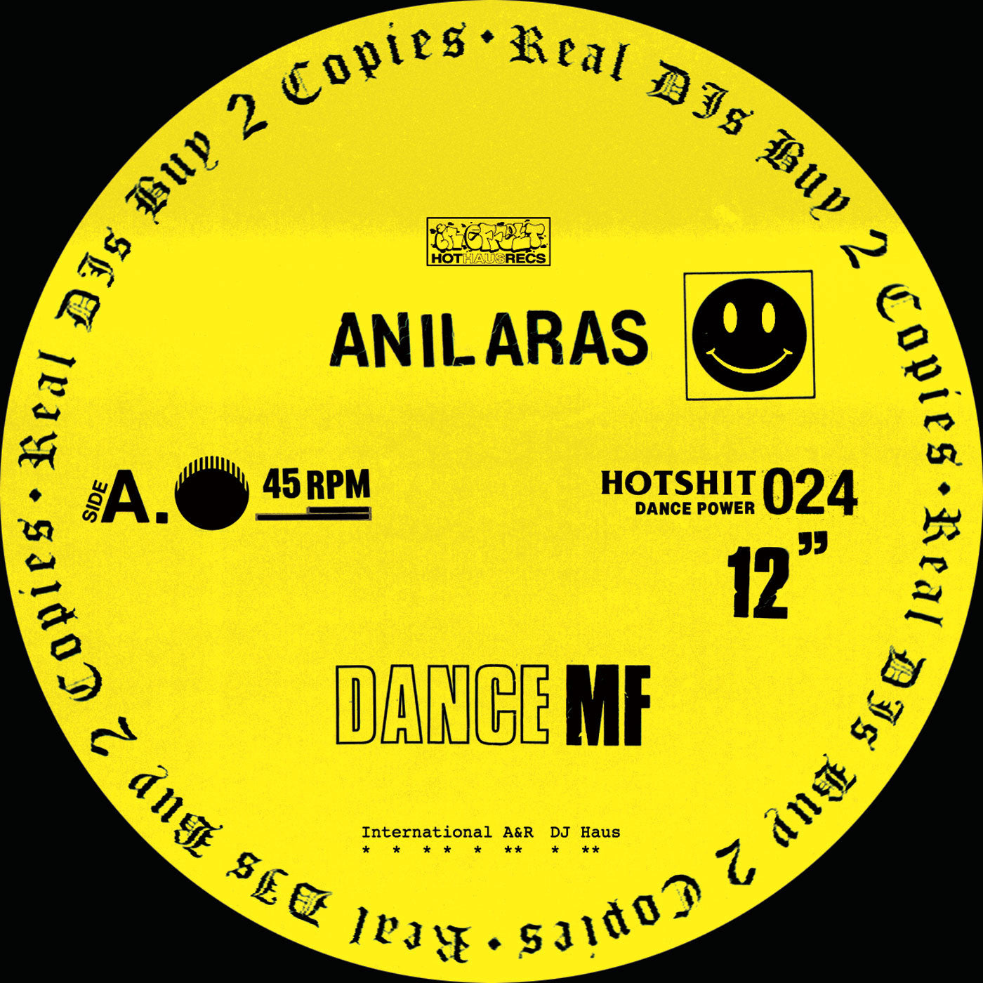 Anil Aras - Dance MF - Unearthed Sounds