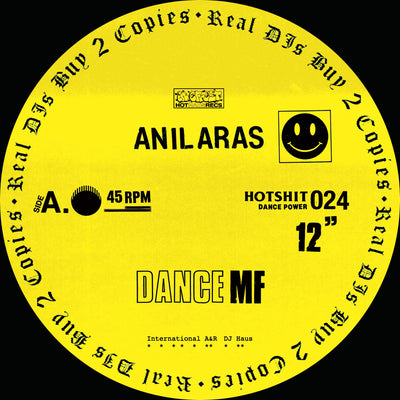 Anil Aras - Dance MF [Repress] - Unearthed Sounds